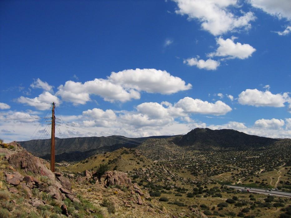 at the edge of the city, Albuquerque (2005)