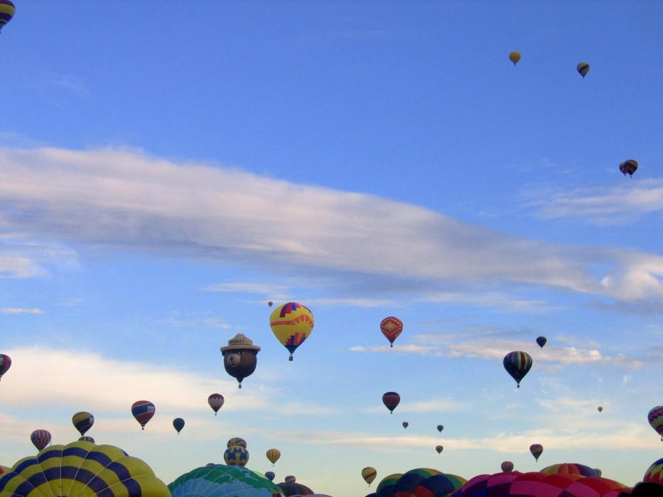 mass ascension, Balloon Fiesta (2005)