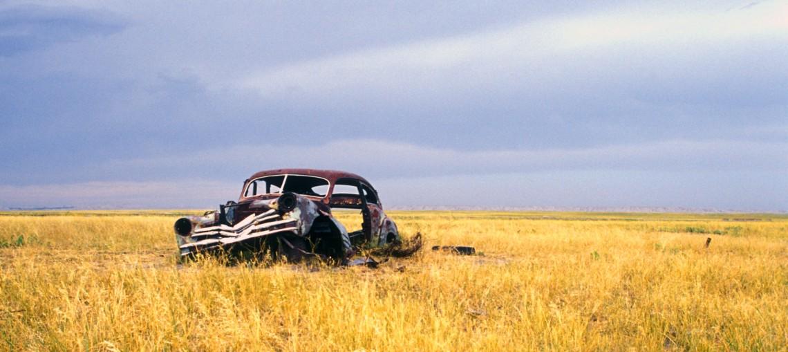 ghost town, South Dakota (2003)