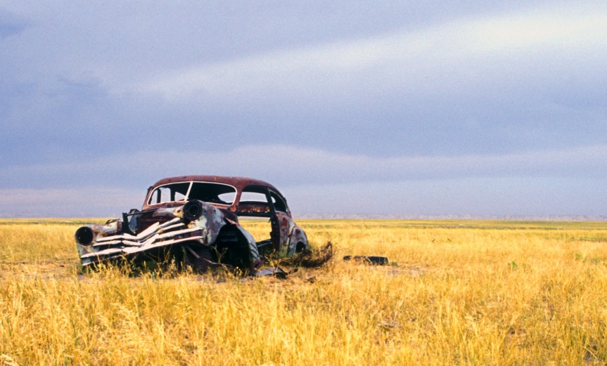 ghost town, South Dakota (2003)