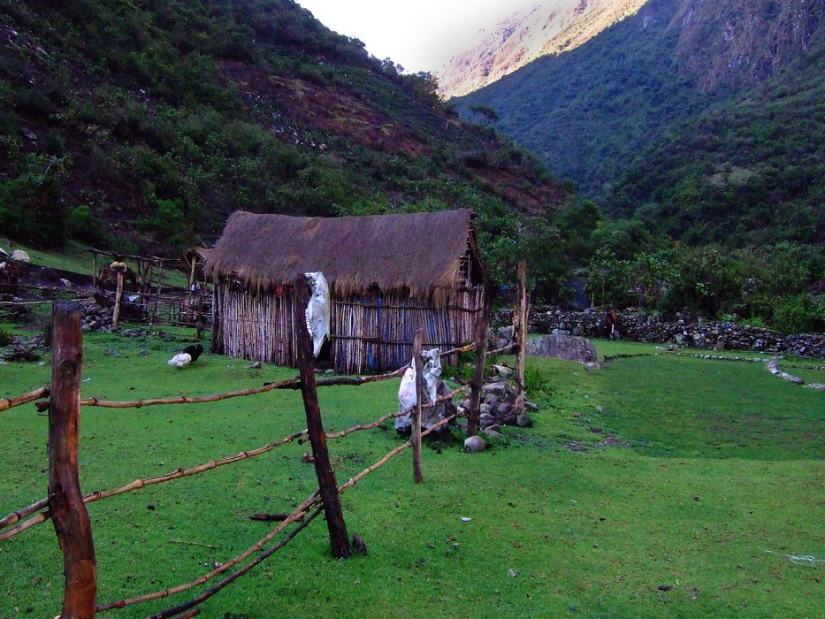 hiking to Salkantay (2008)