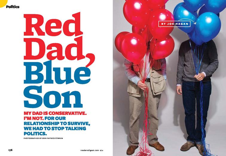Red Dad, Blue Son