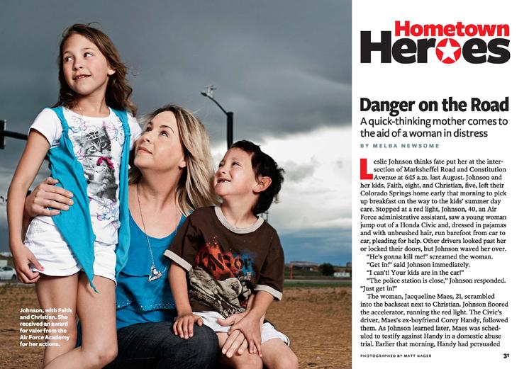 Hometown Heroes: Danger on the Road