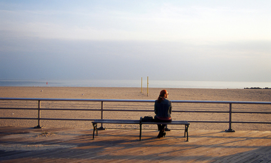 Coney Island Benches