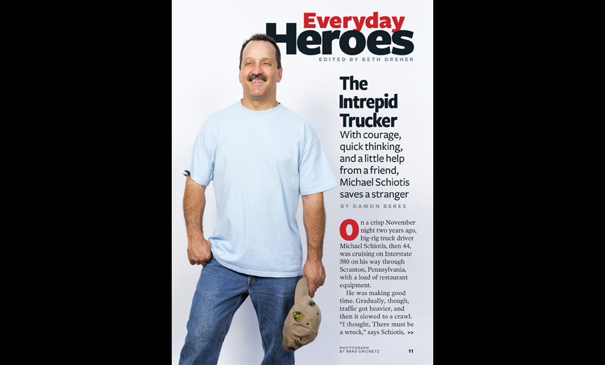 Everyday Heroes: The Intrepid Trucker