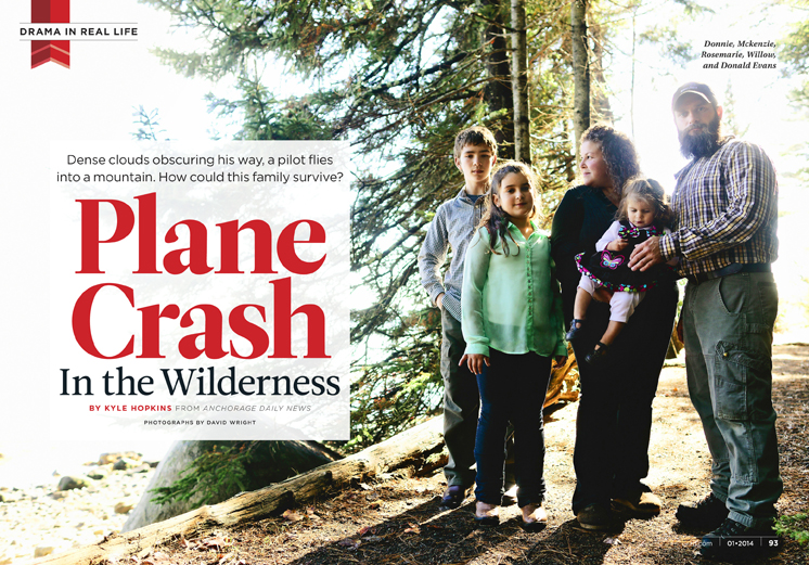 Plane Crash in the Wilderness