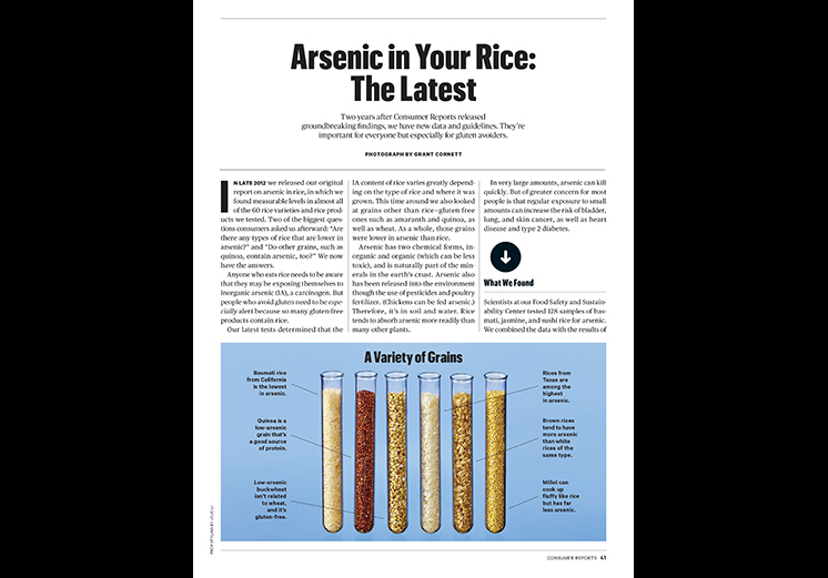 Arsenic in Your Rice: The Latest